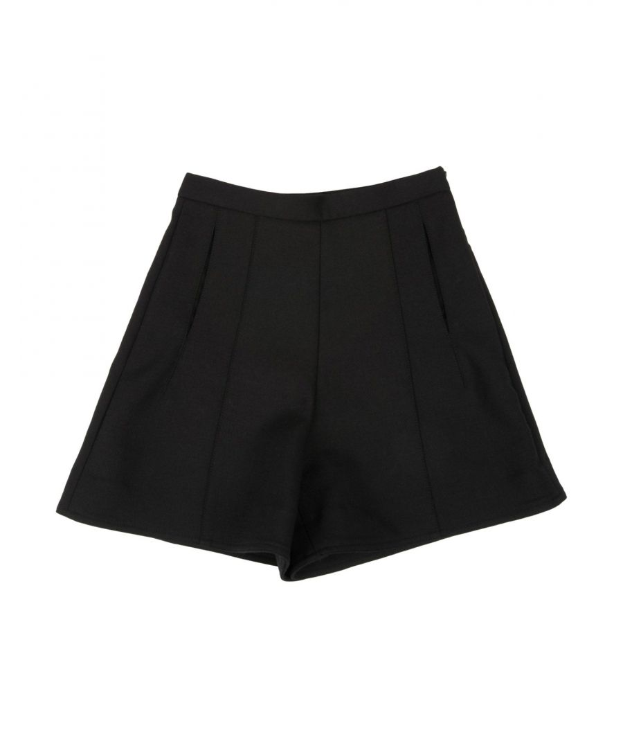 Image for Armani Junior Black Girl Polyester Shorts