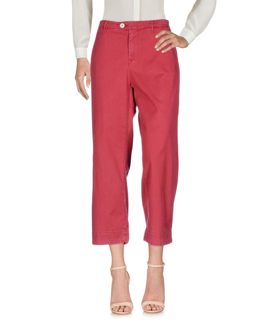 Image for Oaks Red Cotton Trousers