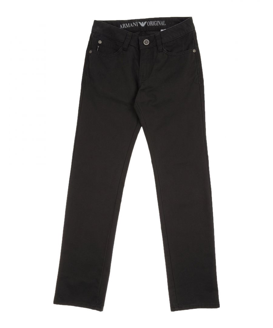 Image for TROUSERS Armani Junior Steel grey Boy Cotton