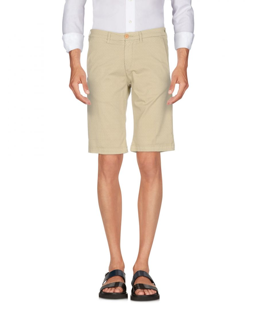 Image for 40Weft Beige Cotton Shorts
