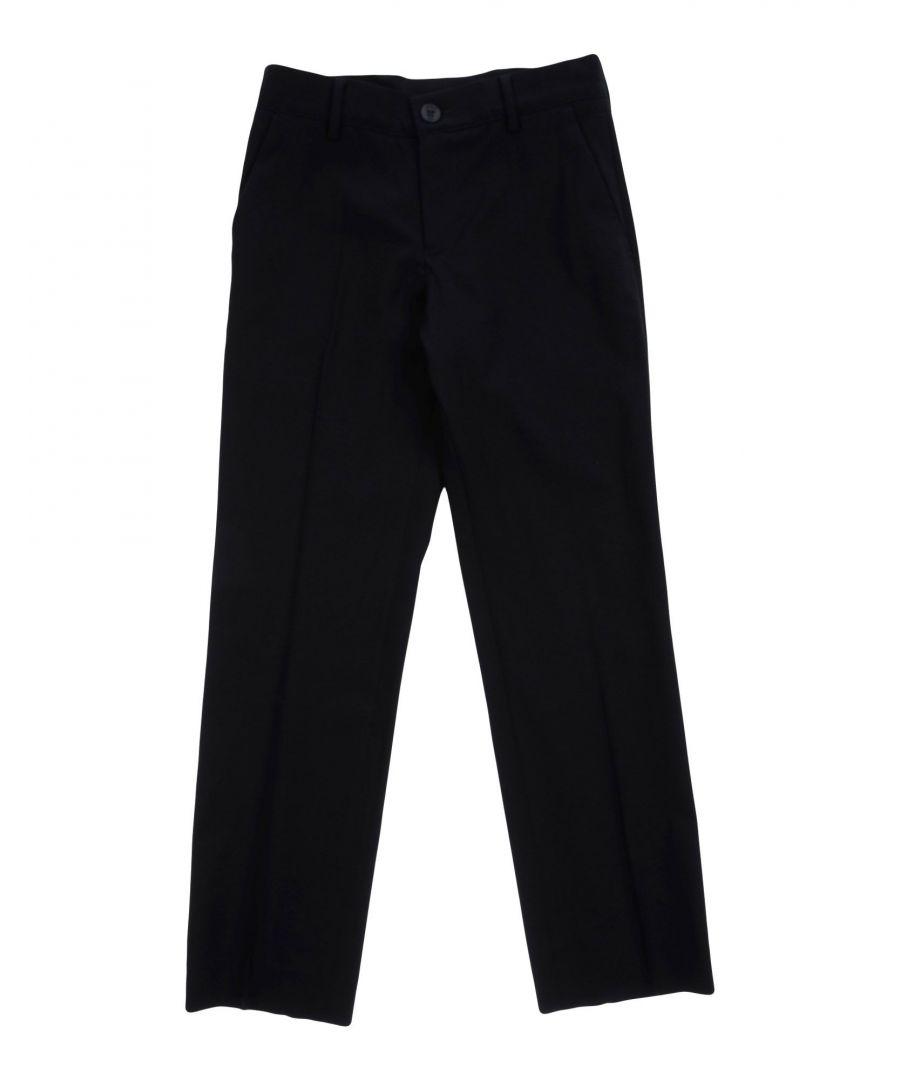 Image for TROUSERS Armani Junior Dark blue Boy Virgin Wool