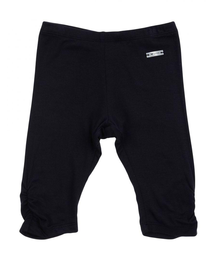Image for Armani Junior Dark blue Girl Viscose Trousers