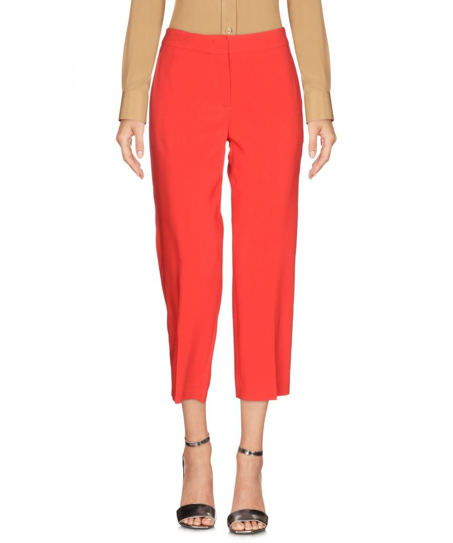 Image for L' Autre Chose Red Viscose 3/4-length trousers
