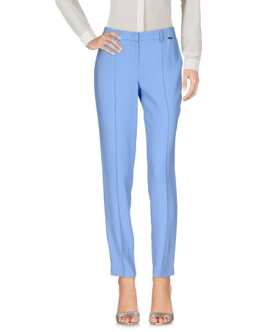 Image for Nenette Sky Blue Tapered Leg Tailored Trousers