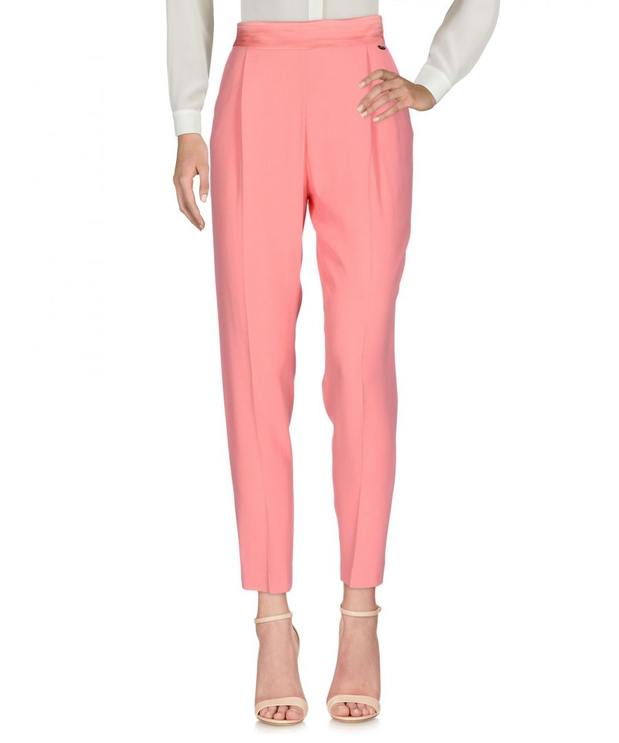 Image for Nenette Woman Casual trousers Salmon pink Acetate