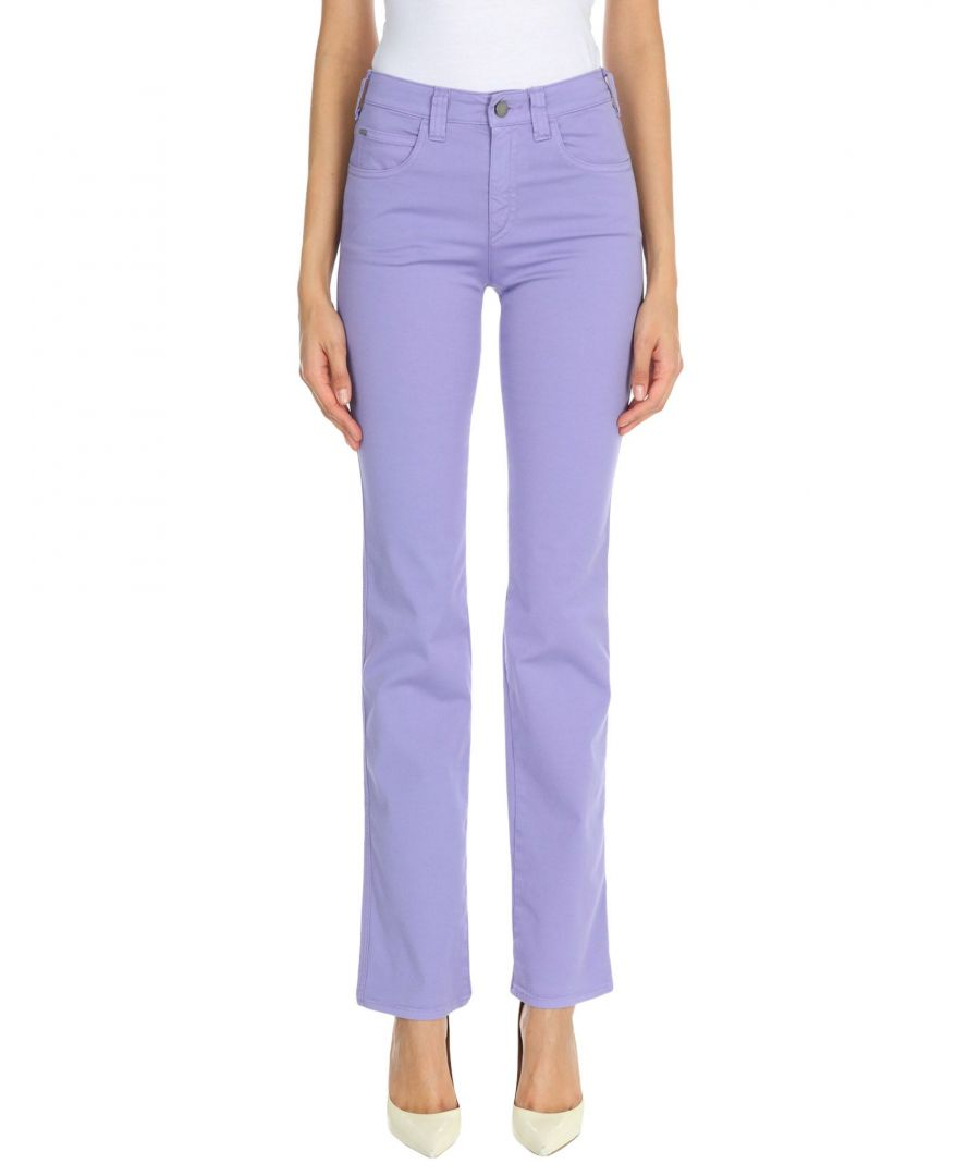 Image for Armani Jeans Light Purple Cotton Trousers