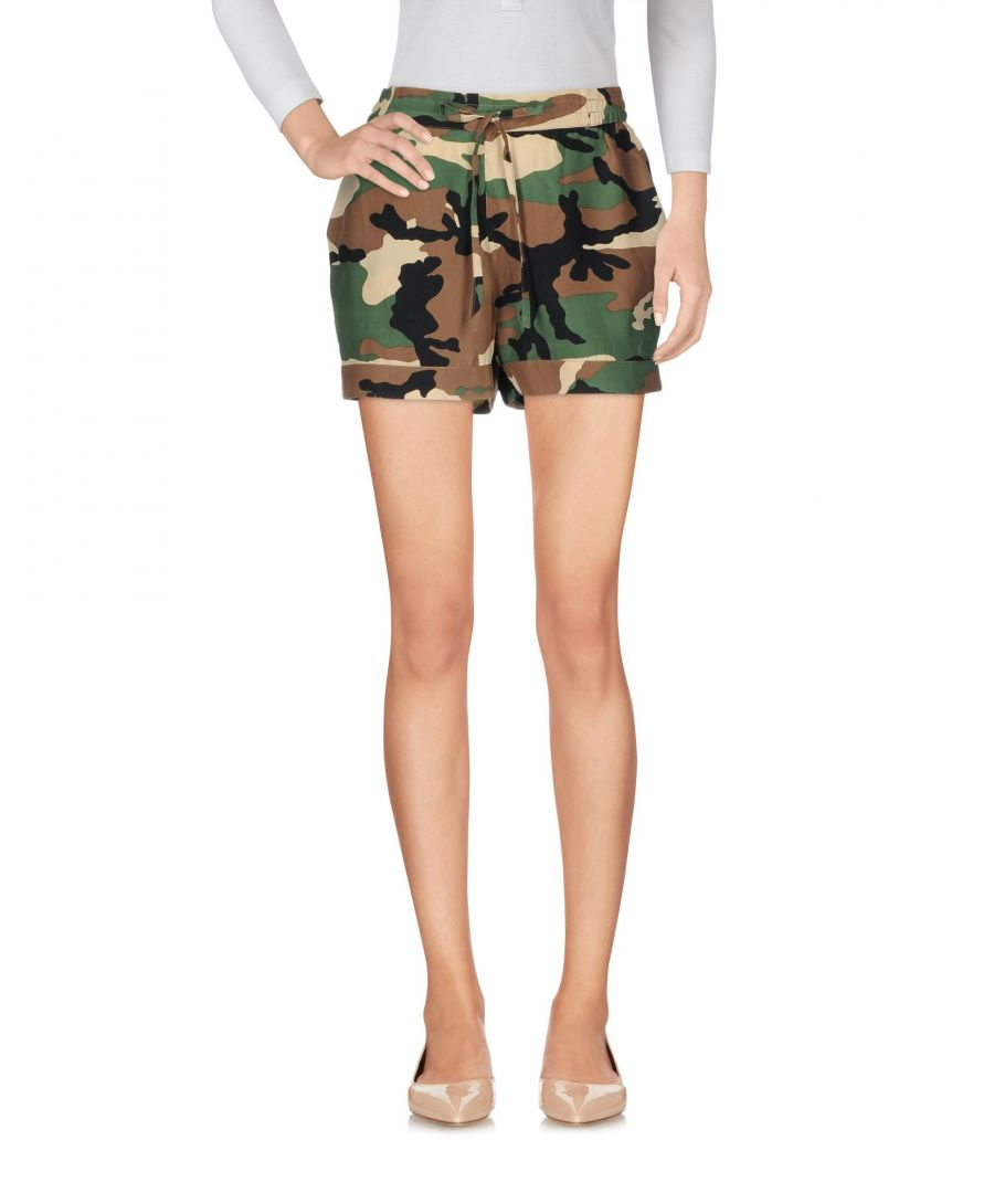 Image for TROUSERS P.A.R.O.S.H. Military green Woman Silk