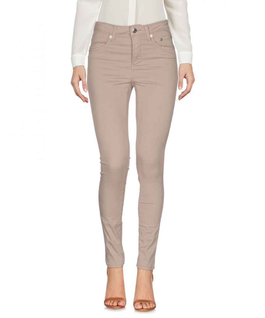 Image for Siviglia Sand Cotton Tapered Leg Trousers