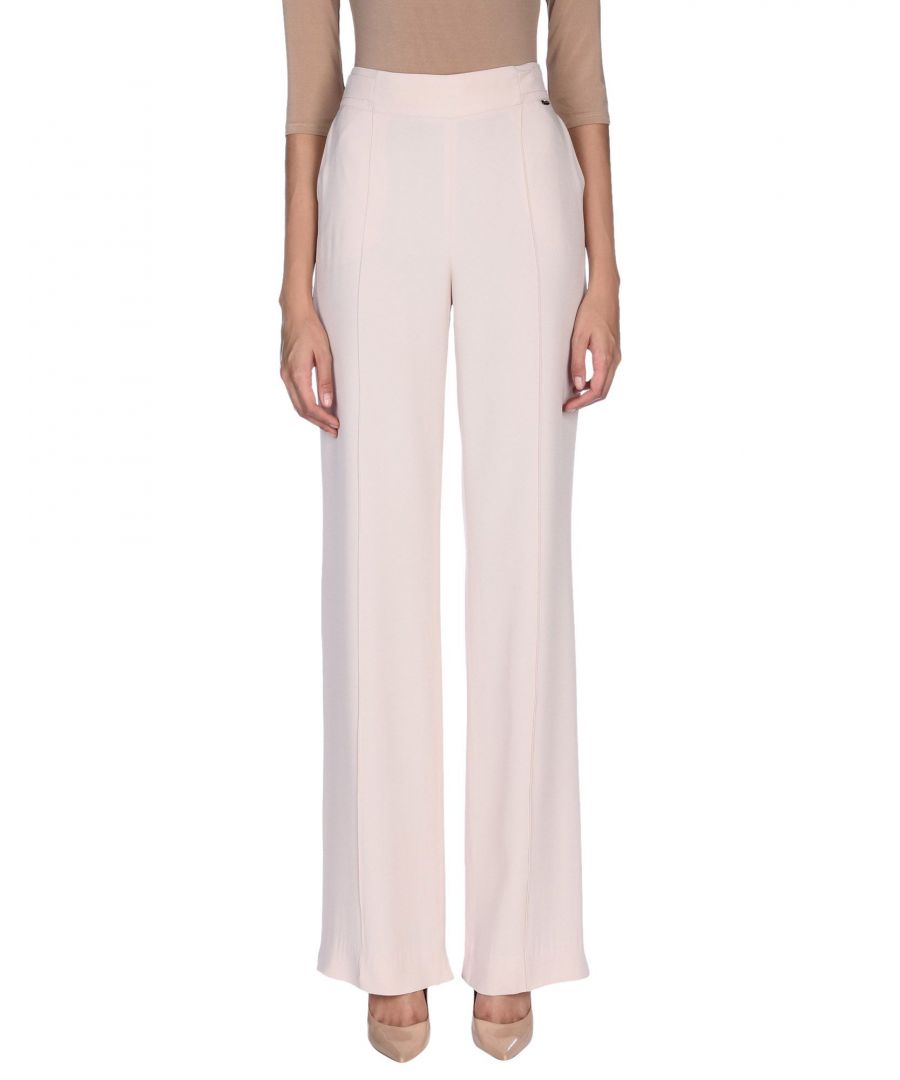 Image for Nenette Woman Casual trousers Light pink Acetate