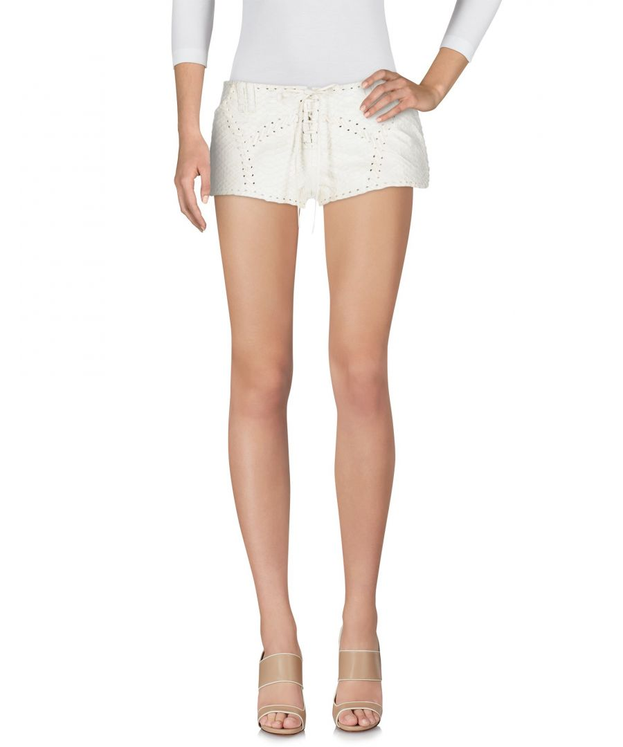 Image for TROUSERS Plein Sud Ivory Woman python