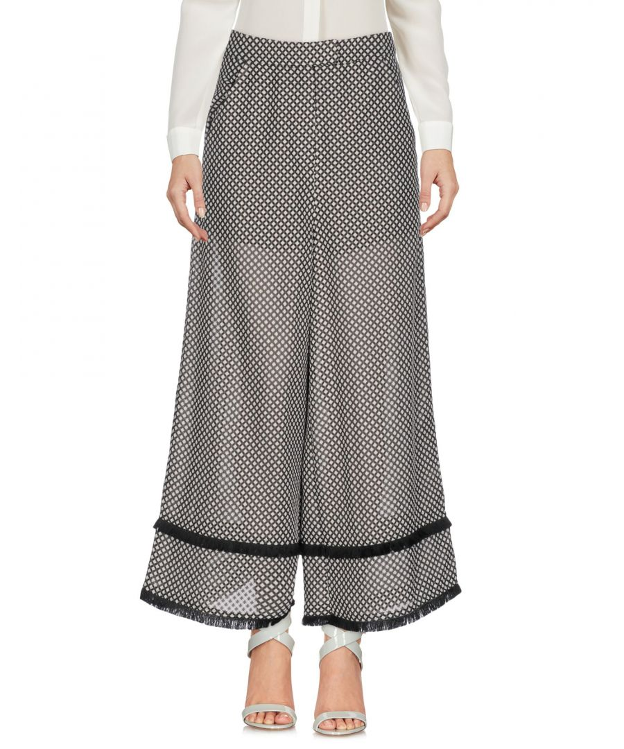 Image for Finders Keepers Steel Grey Jacquard High Waisted Wide Leg Trousers