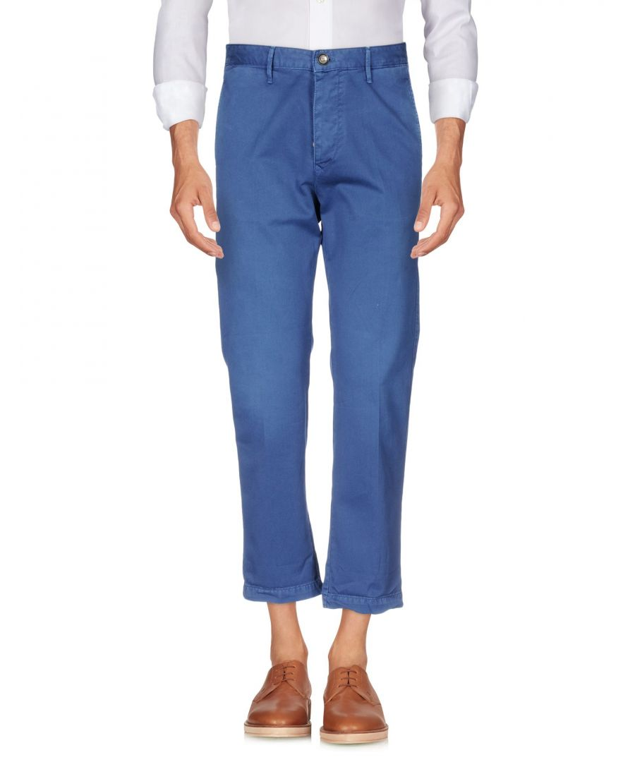 Image for 0/Zero Construction Blue Cotton Chino Trousers