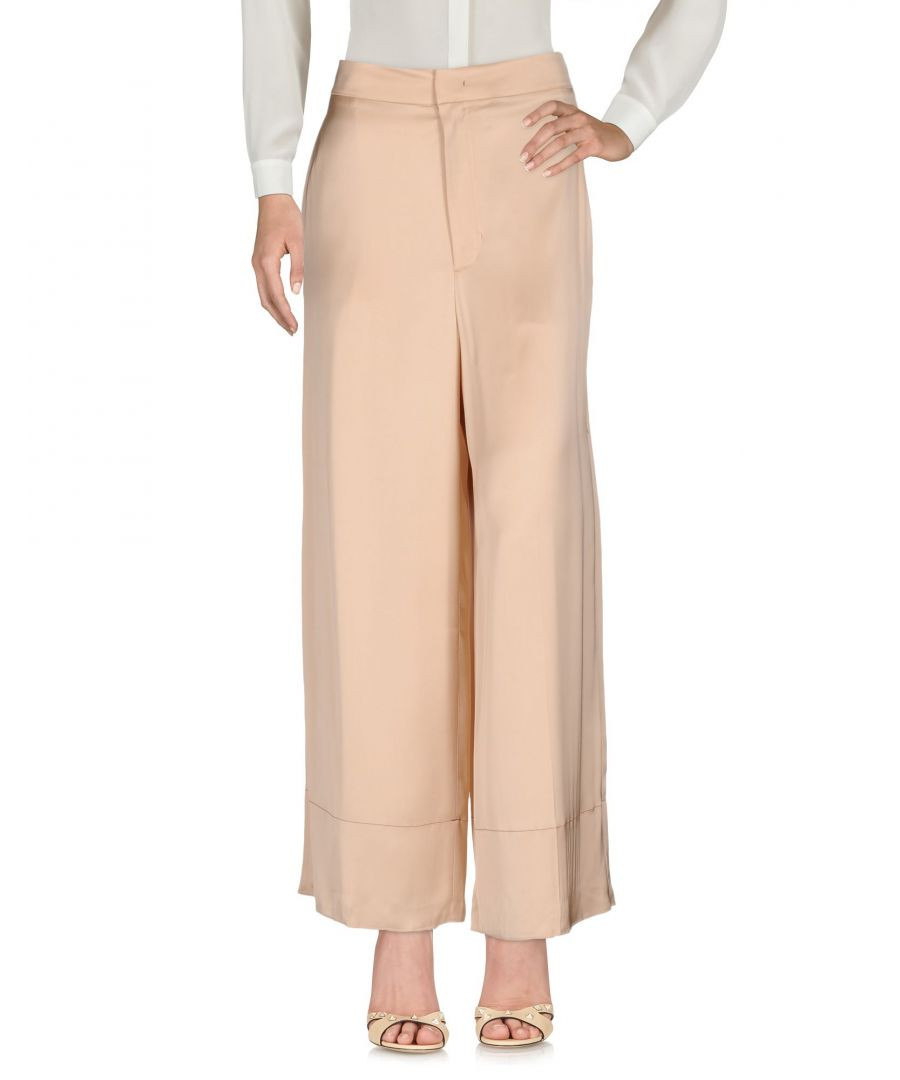 Image for TROUSERS Woman Helmut Lang Beige Viscose