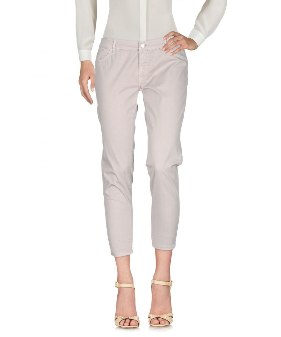 Image for 0/Zero Construction Apricot Cotton Tapered Leg Trousers