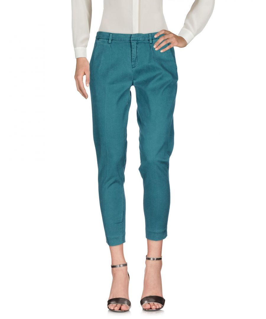 Image for Cycle Green Lyocell Straight Leg Chino Trousers