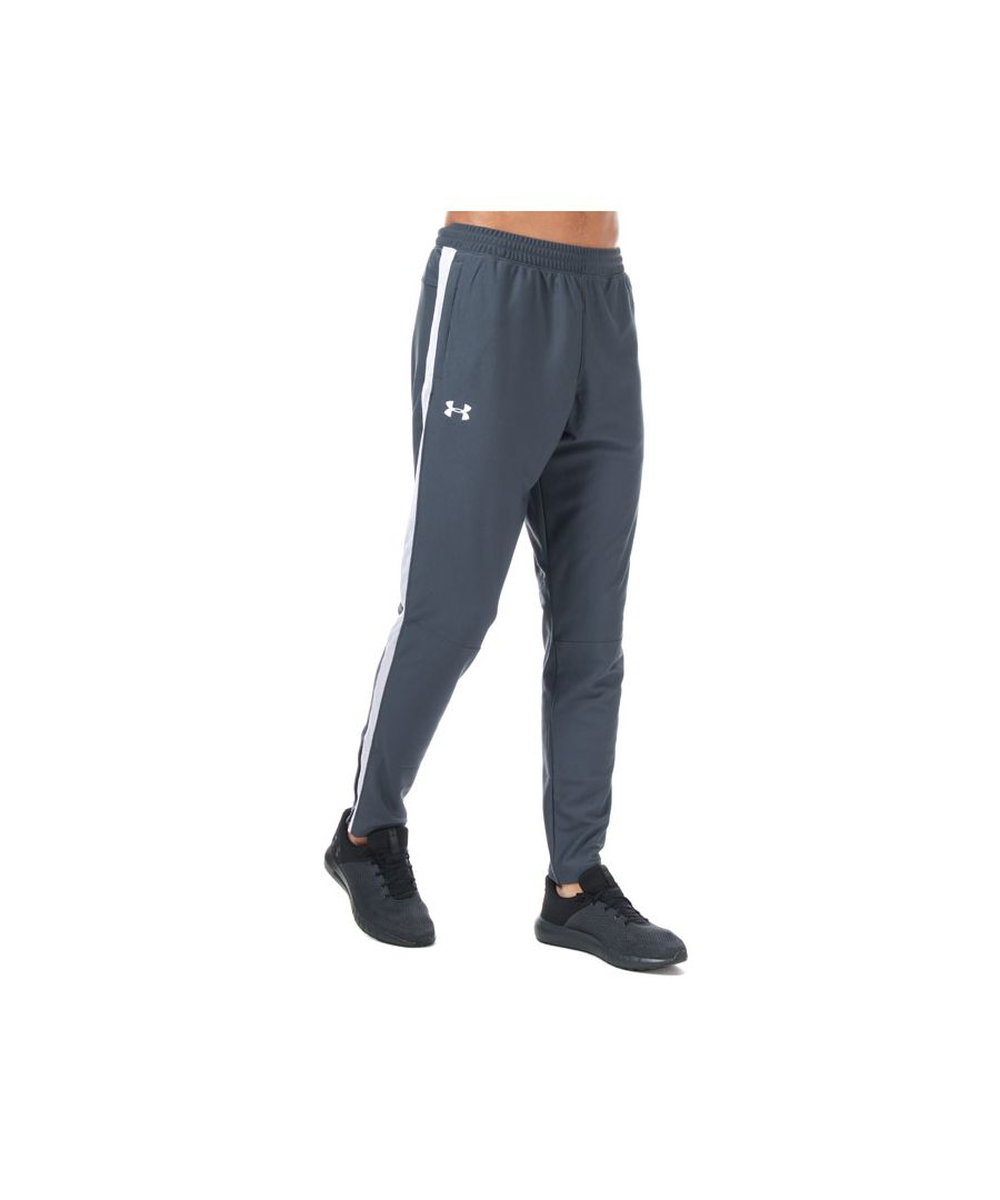 Image for Men's Under Armour Sportstyle Pique Track Pants in Grey