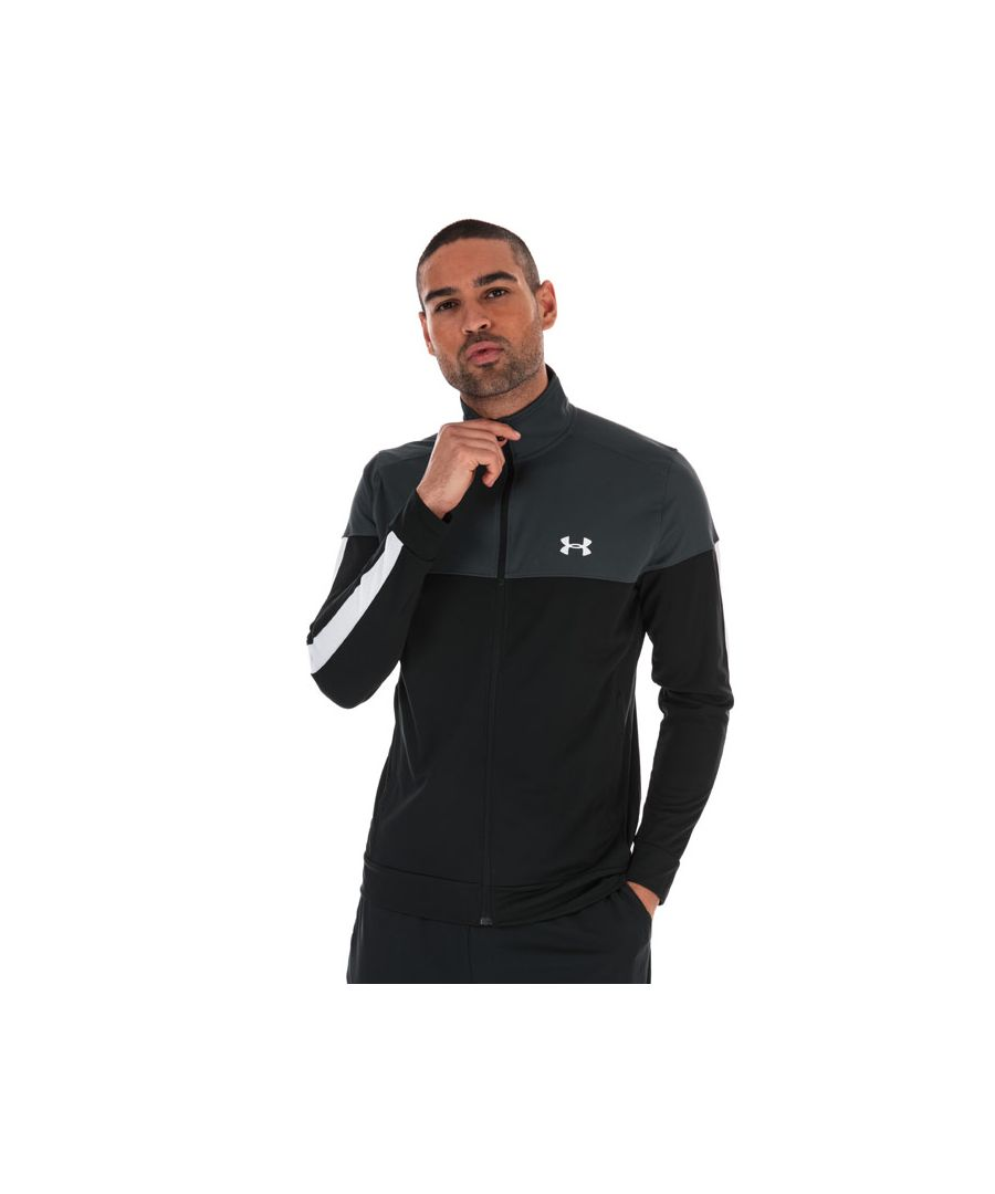 Image for Men's Under Armour Sportstyle Pique Track Jacket in Grey