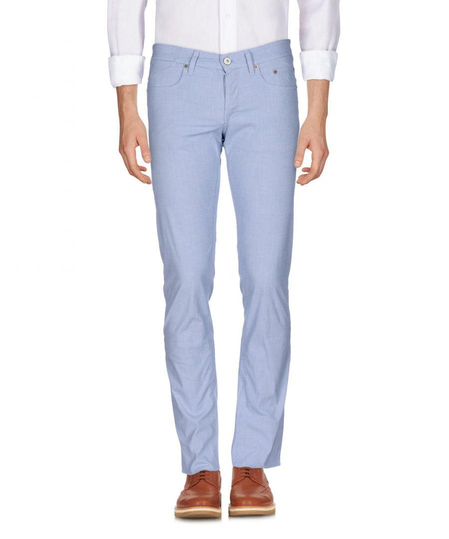 Image for Siviglia Azure Cotton Trousers