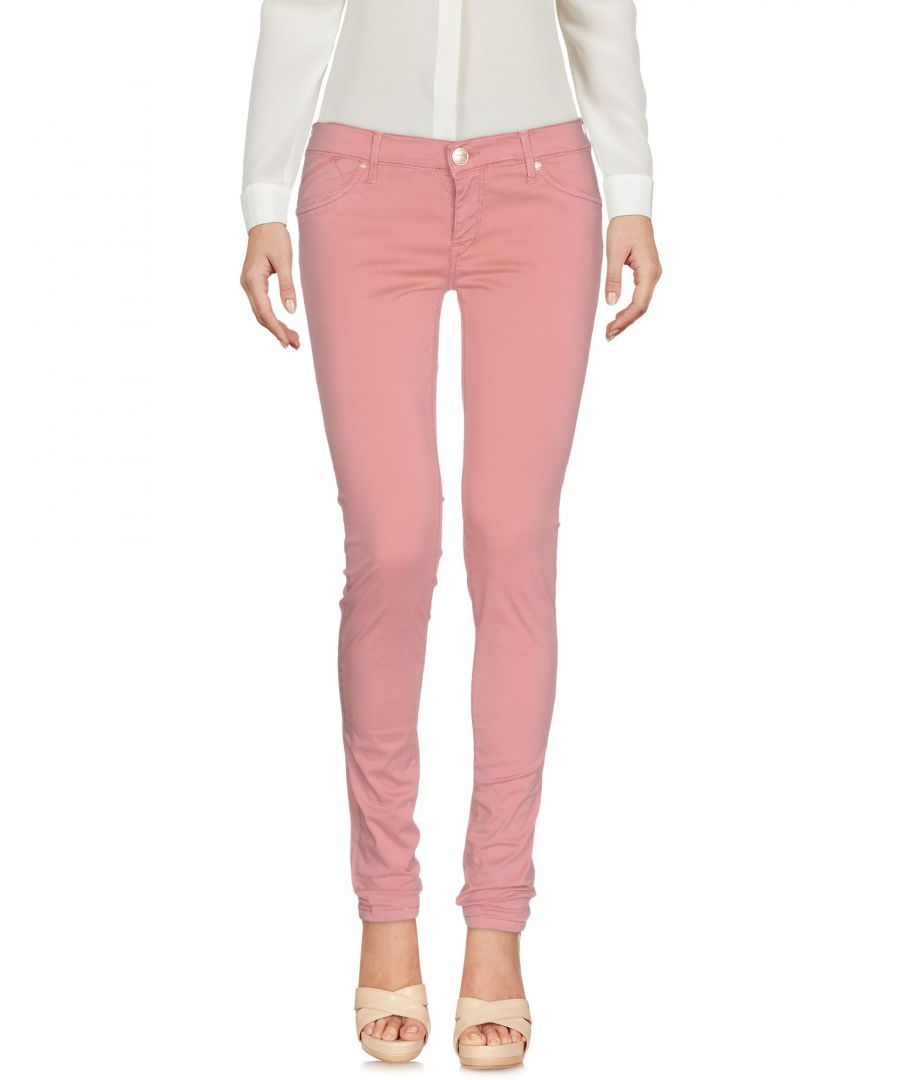 Image for 0/Zero Construction Light Pink Cotton Trousers