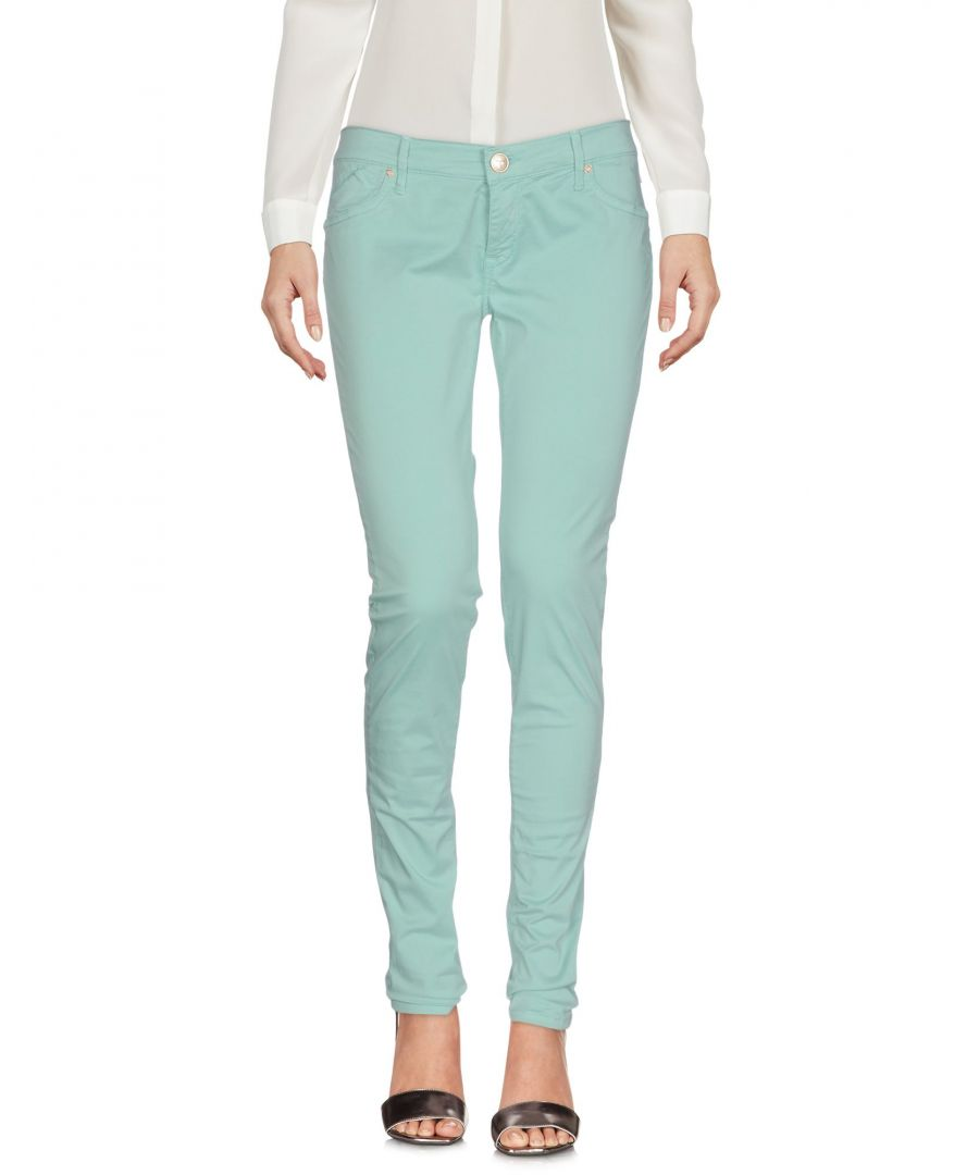 Image for 0/Zero Construction Light Green Cotton Trousers
