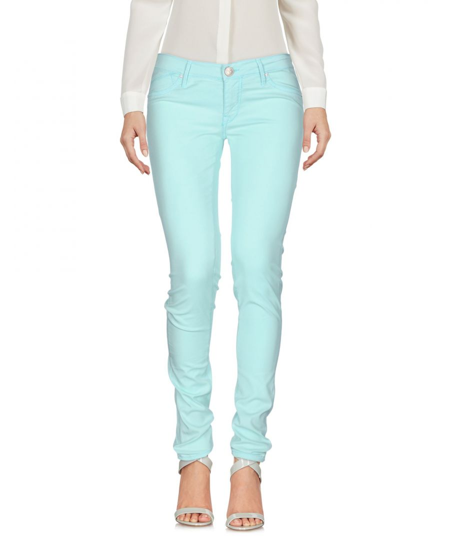 Image for TROUSERS 0/Zero Construction Turquoise Woman Lyocell