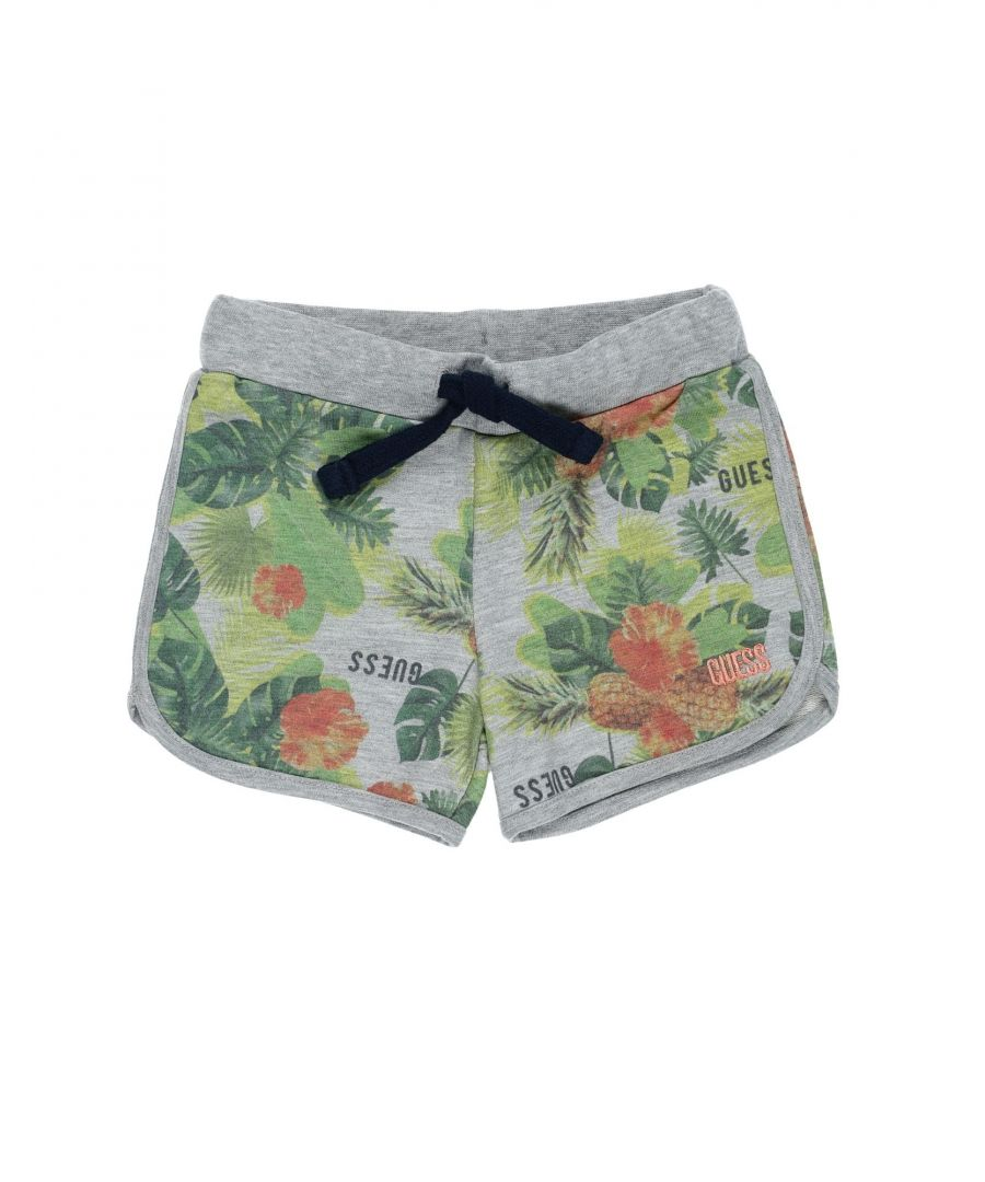Image for Guess Light grey Boy Cotton Shorts