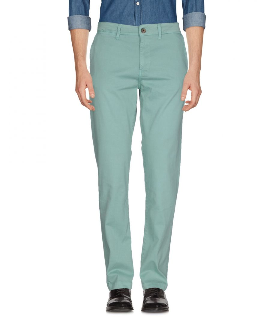 Image for Pepe Jeans Light Green Cotton Chino Trousers