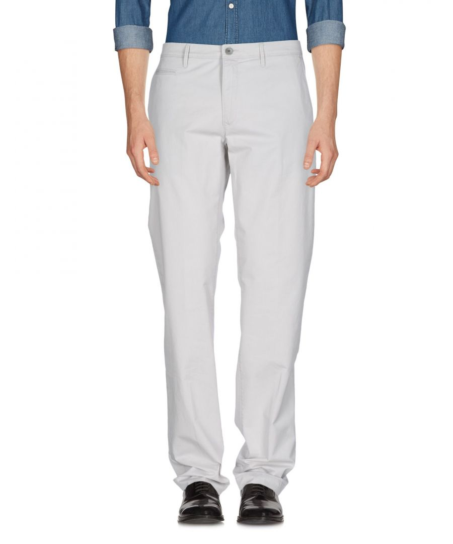 Image for Siviglia White Light grey Cotton Casual trousers