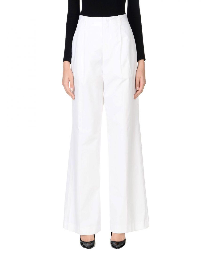 Image for TROUSERS Jil Sander White Woman Cotton