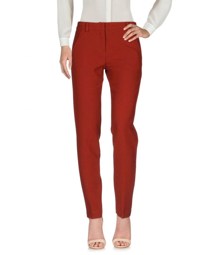 Image for TROUSERS Essentiel Antwerp Brick red Woman Polyester
