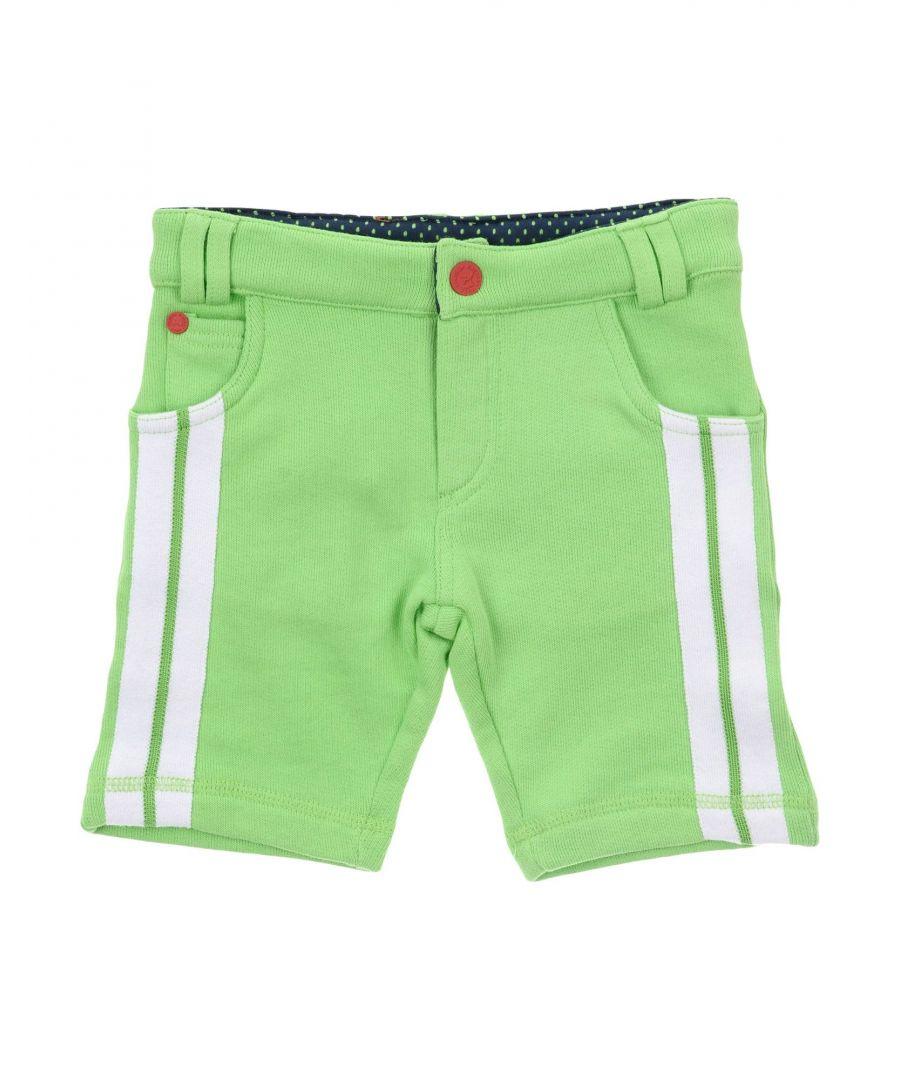 Image for Frankie Morello Acid green Boy Cotton Shorts