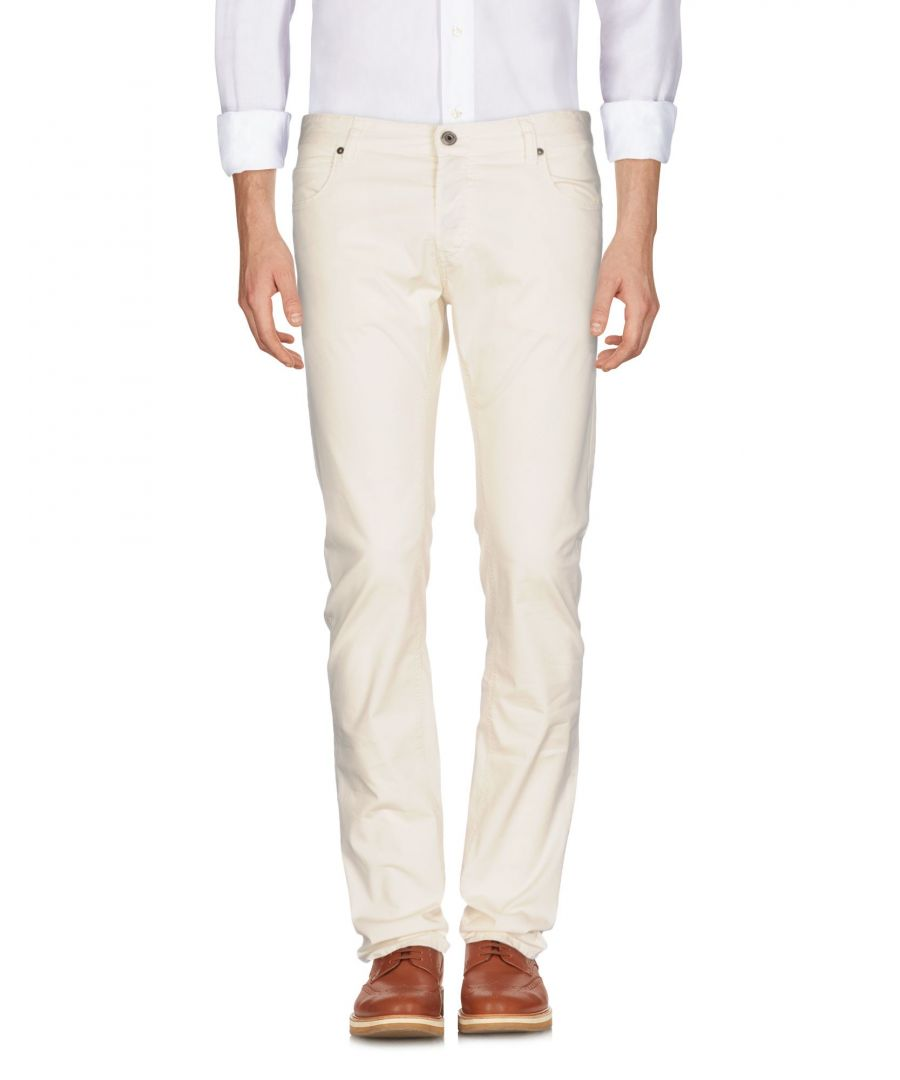 Image for Just Cavalli Beige Cotton Trousers