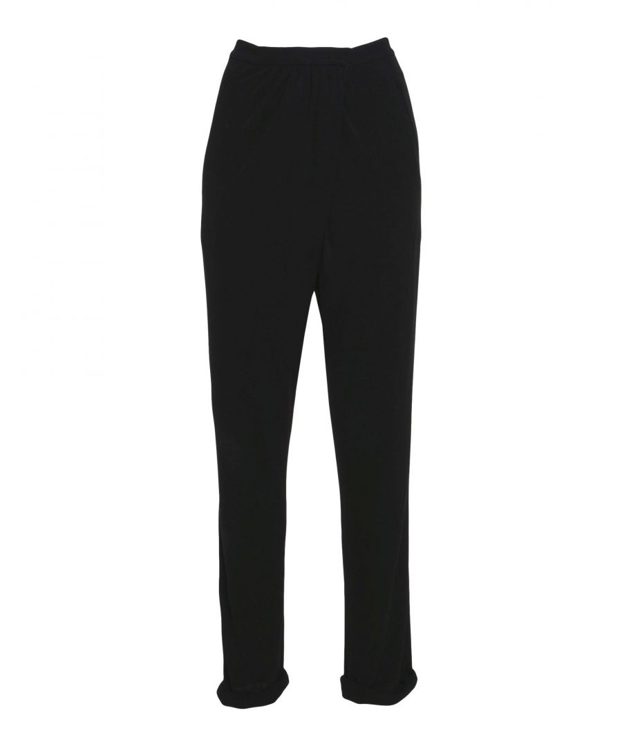 Image for TROUSERS Issa Black Woman Viscose