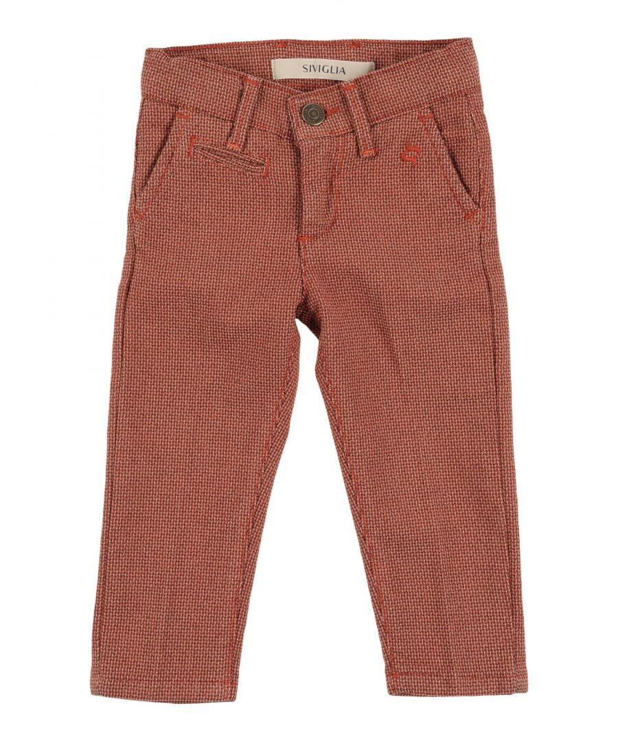 Image for TROUSERS Siviglia Rust Boy Cotton