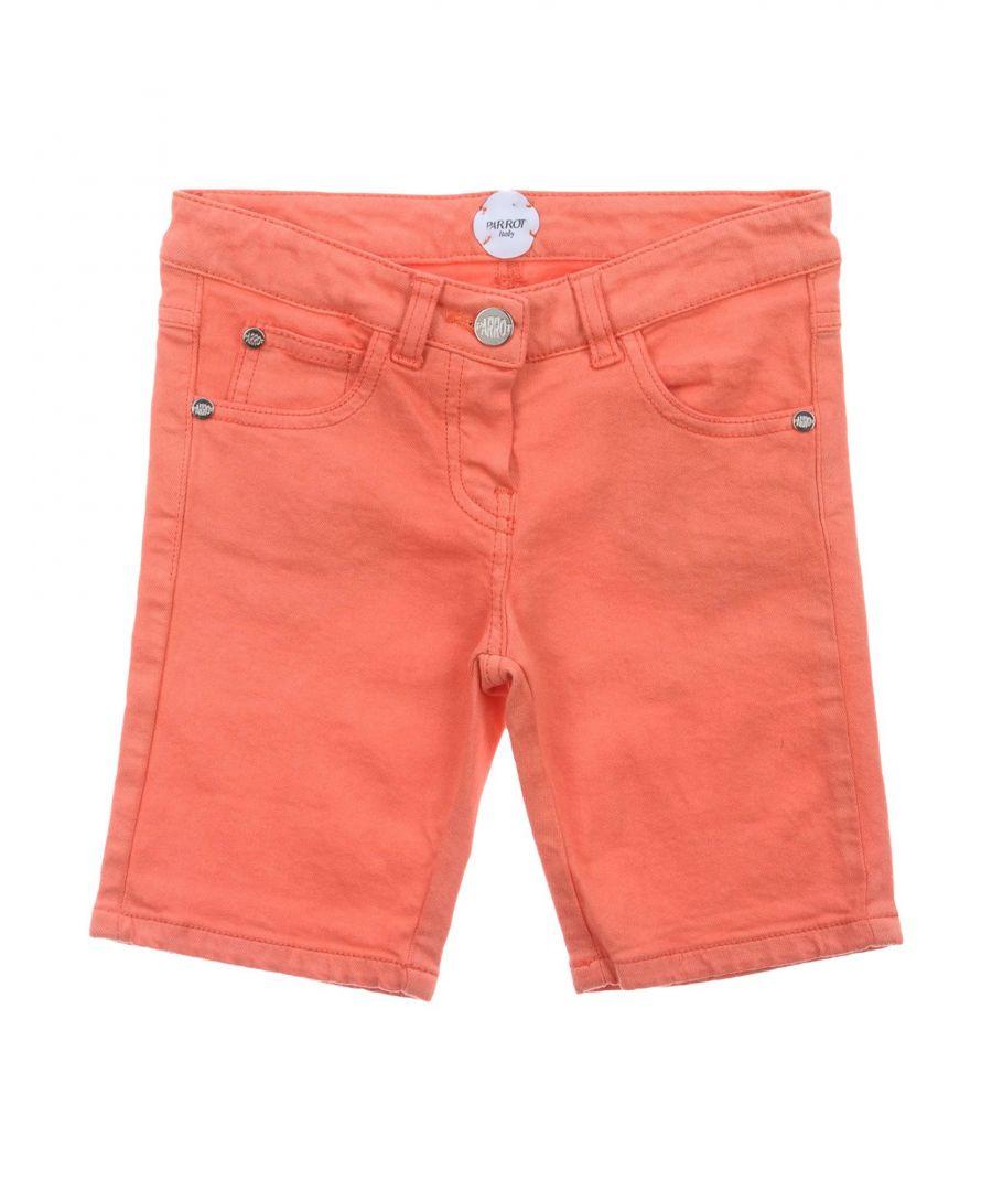 Image for Parrot Orange Girl Cotton Shorts