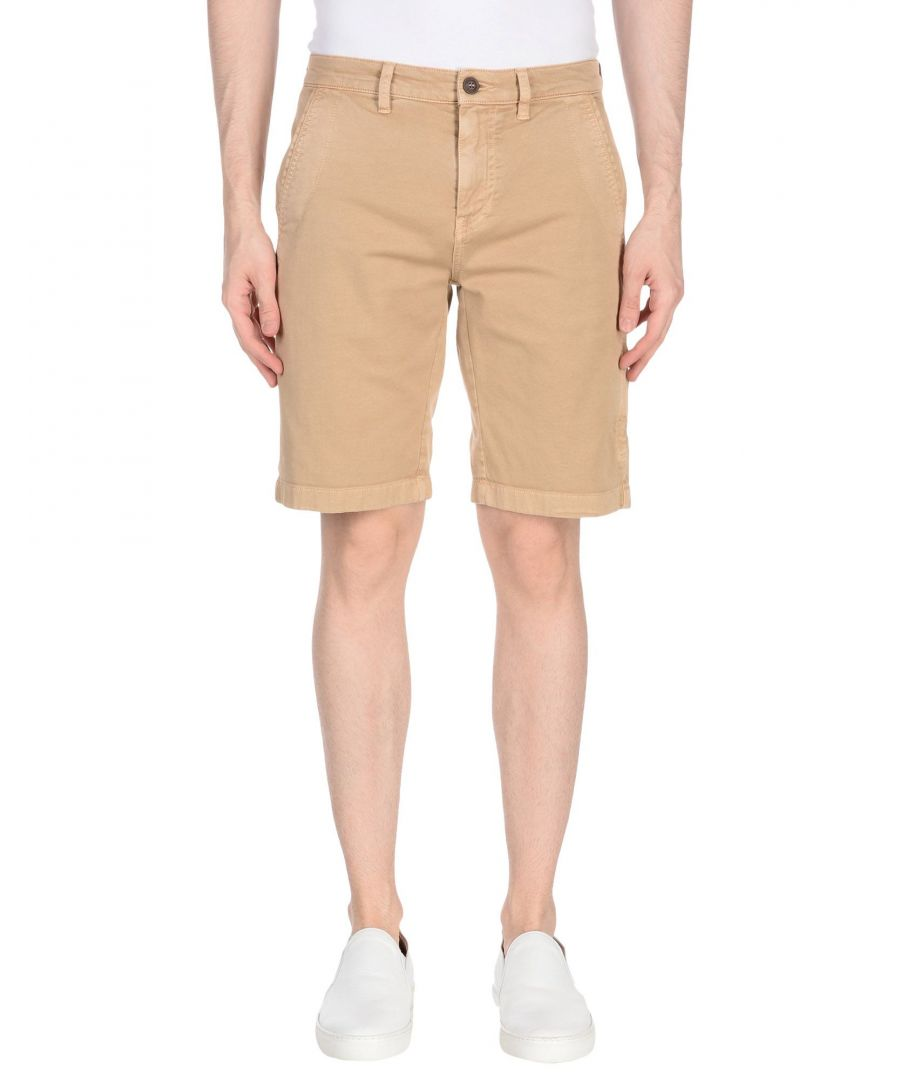 Image for Belstaff Sand Cotton Chino Shorts