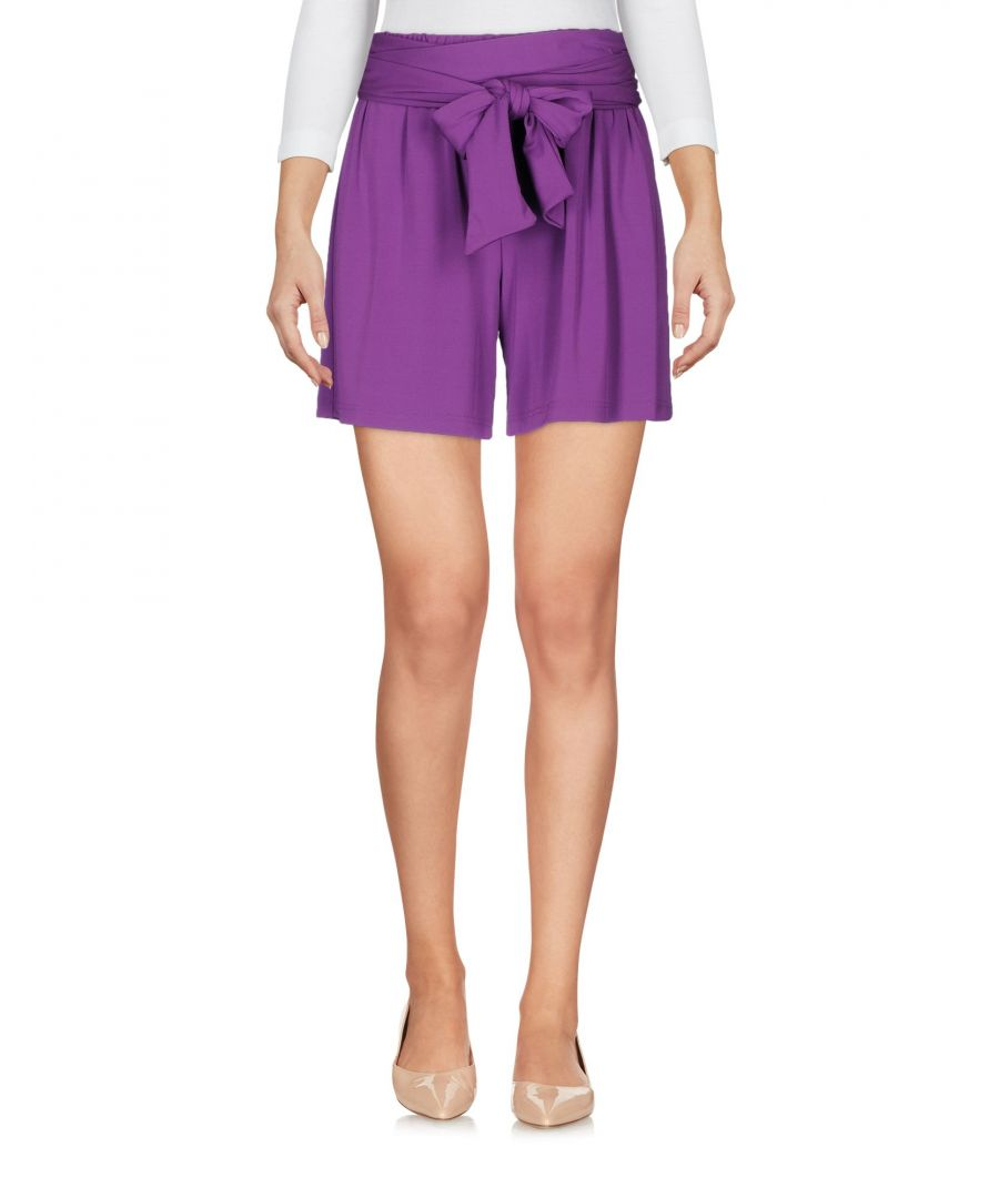 Image for Fisico Purple Jersey Belted Shorts