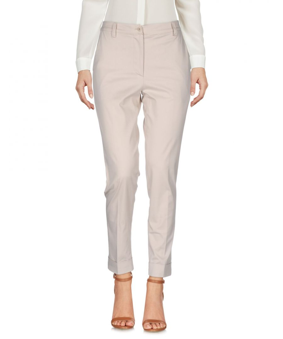 Image for TROUSERS Gentryportofino Beige Woman Cotton