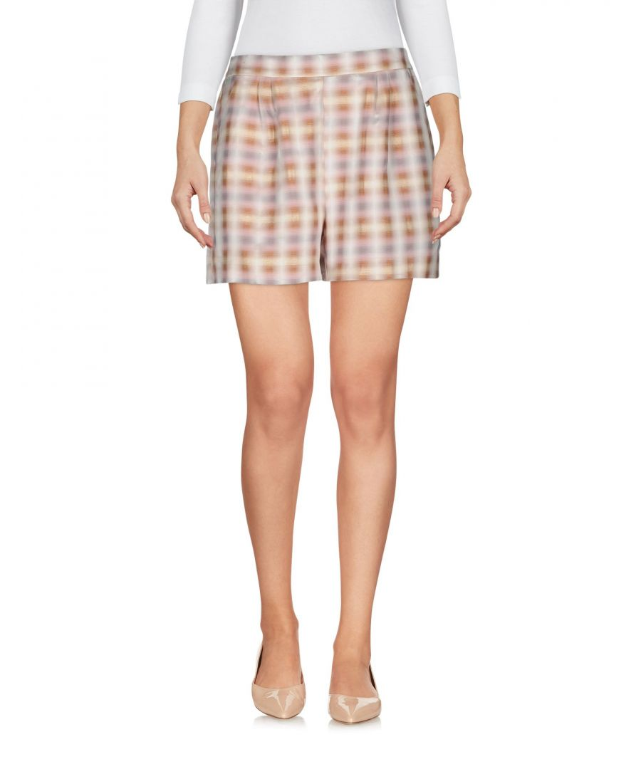 Image for Attic And Barn Beige Pattern Shorts