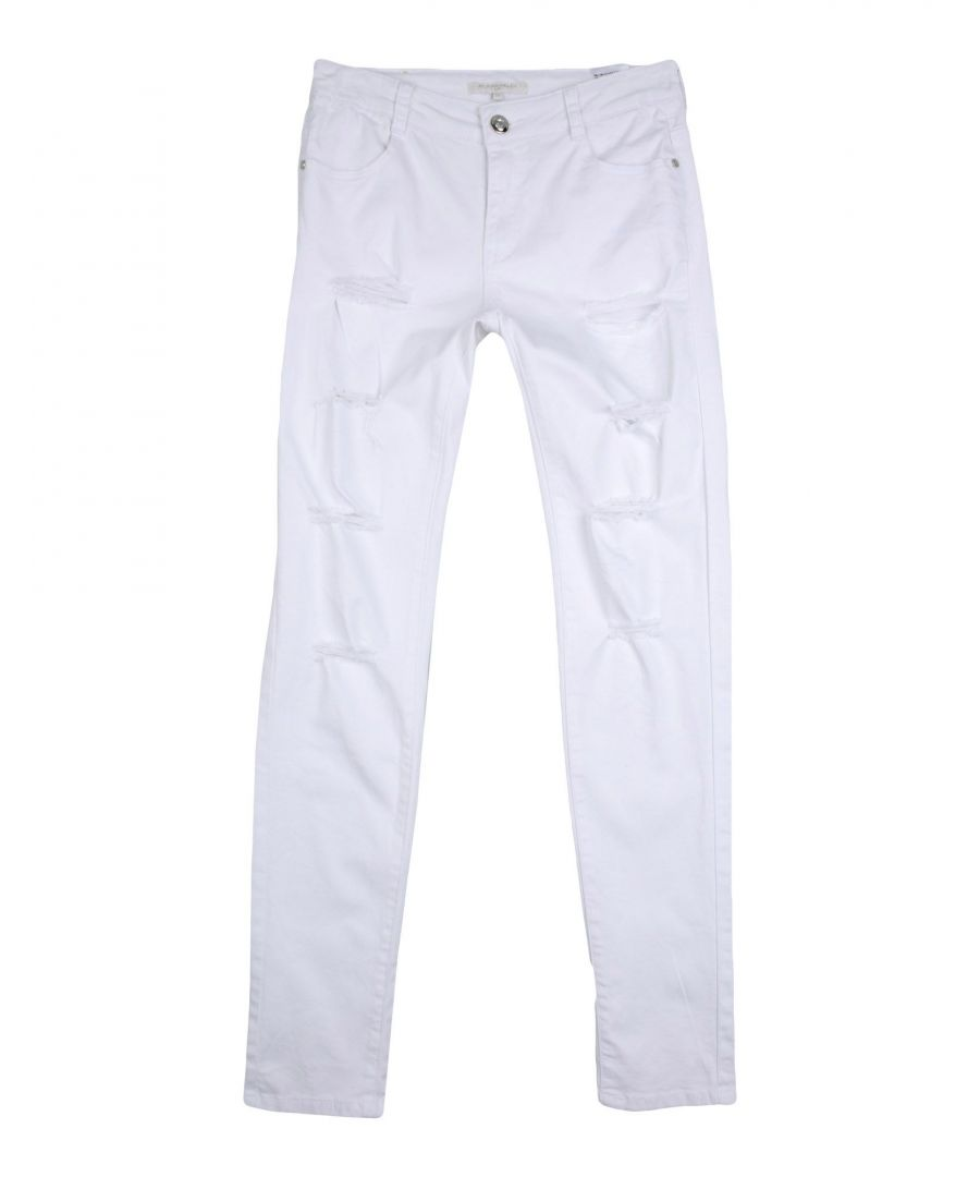 Image for Silvian Heach Girl Casual trousers White Cotton