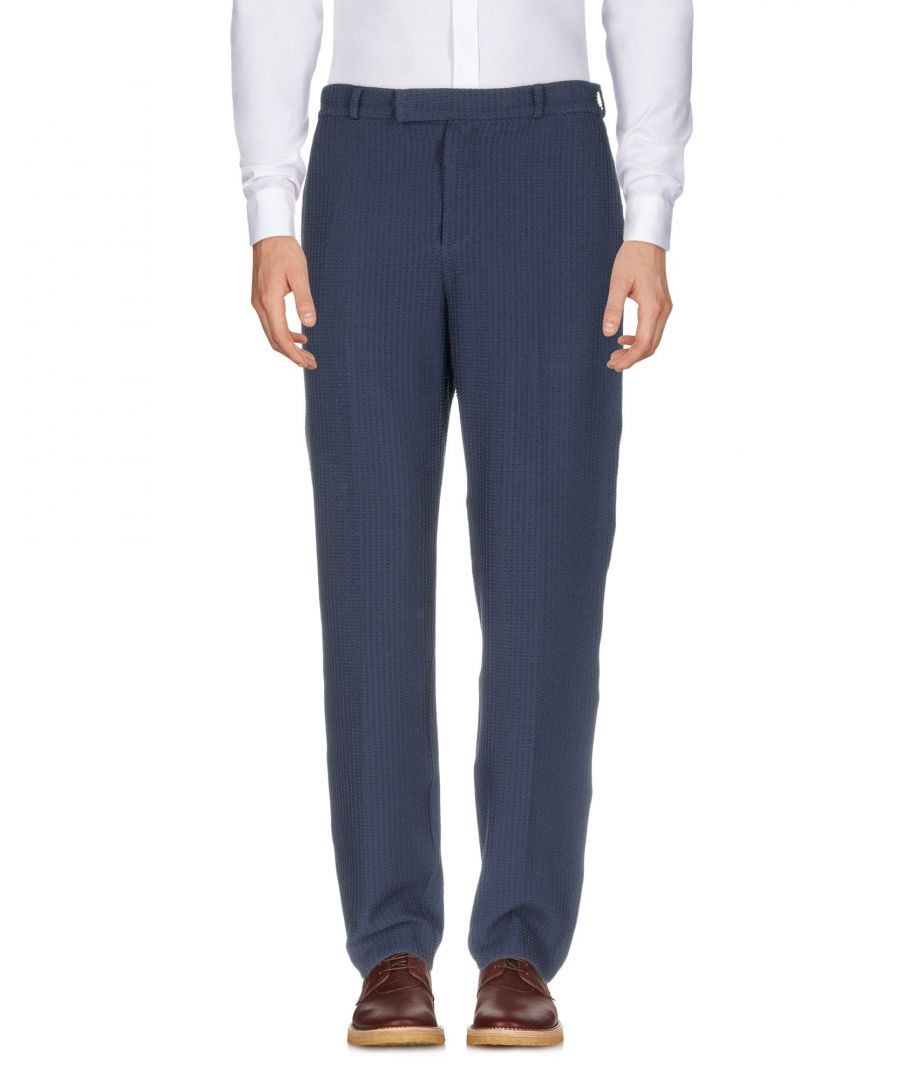 Image for Armani Jeans Dark Blue Cotton Trousers