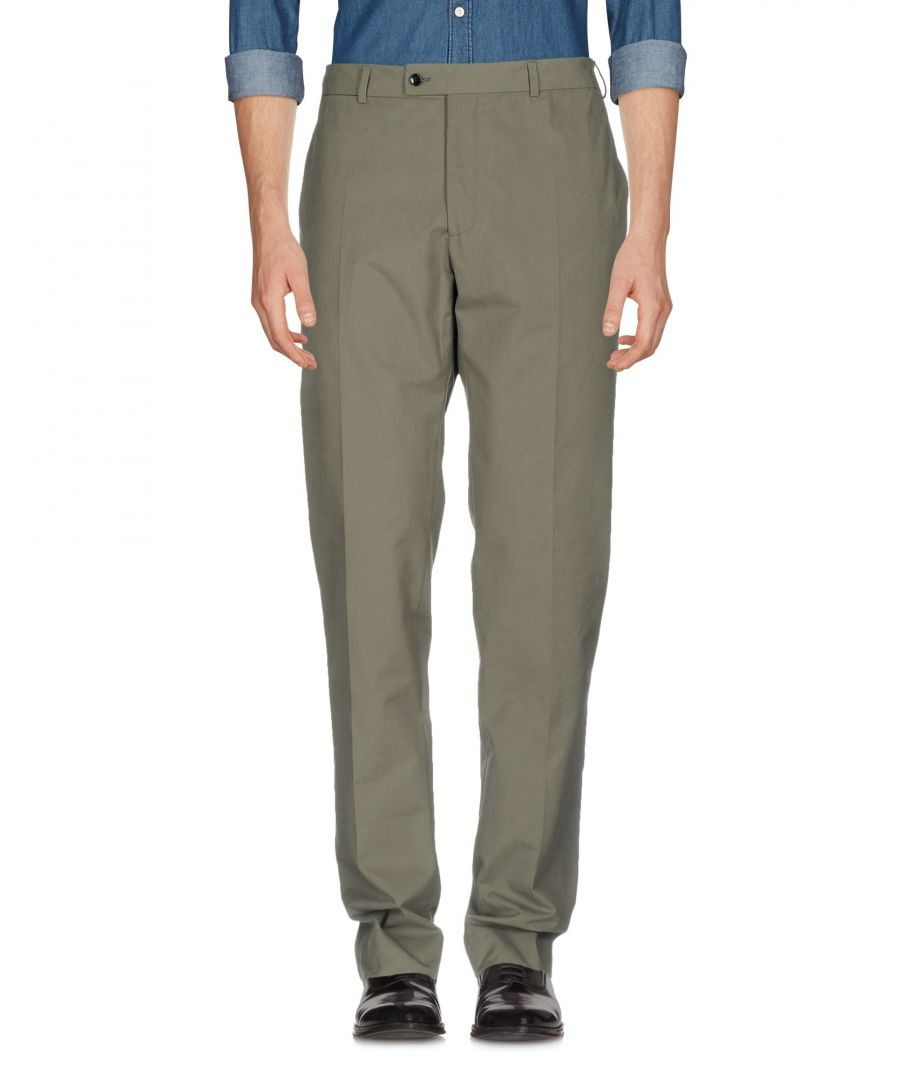 Image for TROUSERS Mp Massimo Piombo Military green Man Cotton