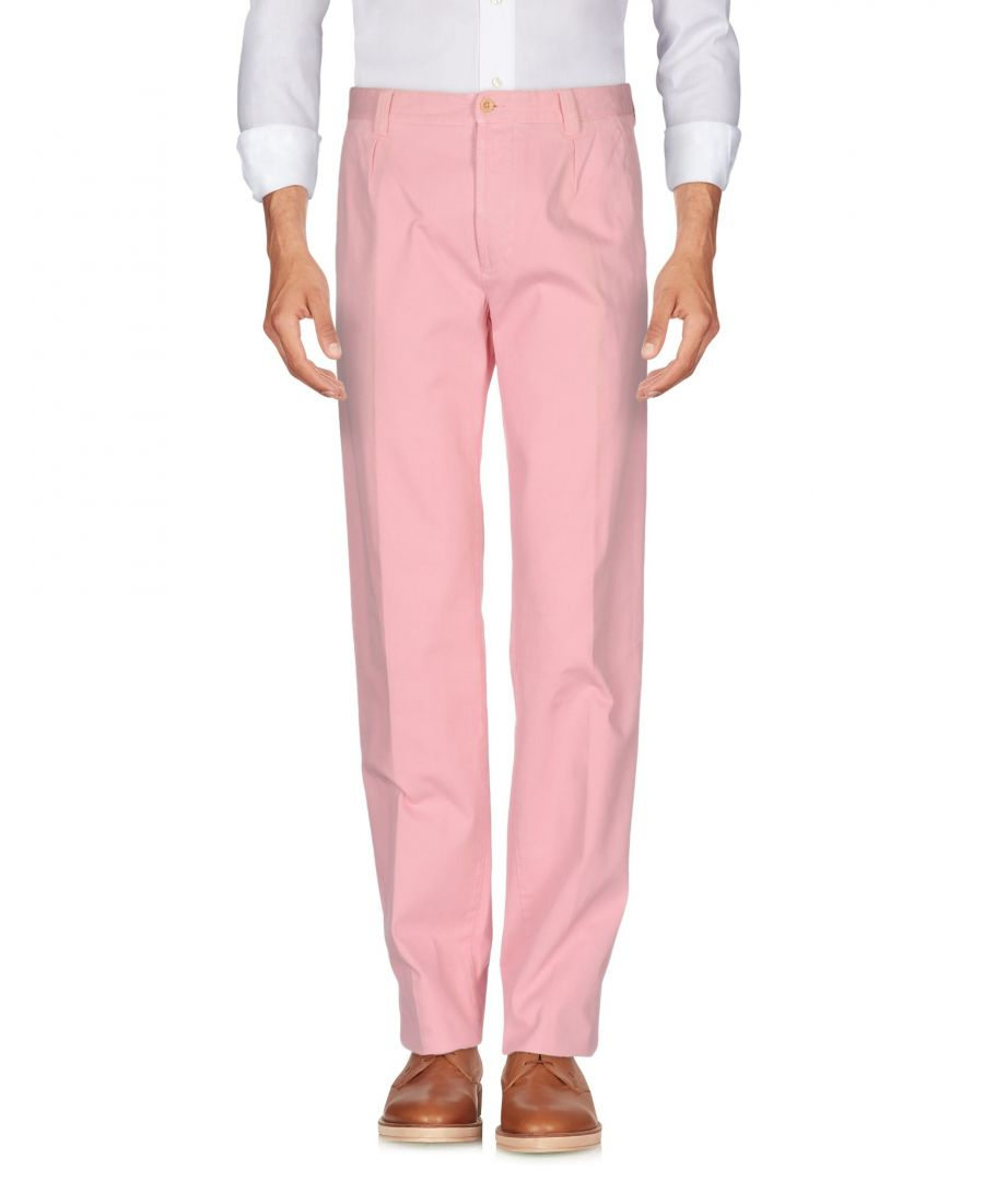 Image for Gta Il Pantalone Pink Cotton Casual trousers
