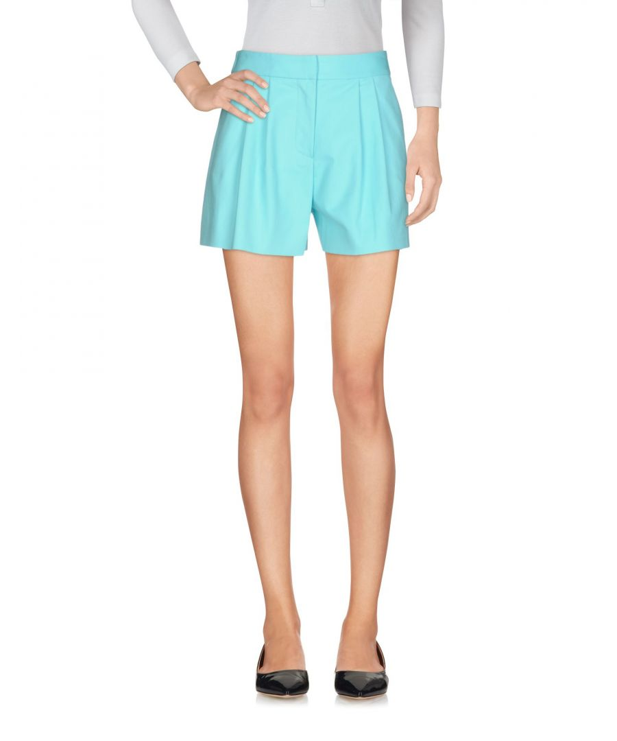 Image for Boutique Moschino Sky Blue Cotton Shorts
