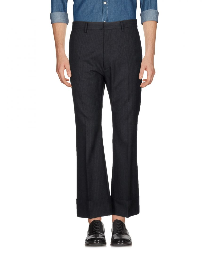 Image for Dsquared2 Steel Grey Wool Trousers
