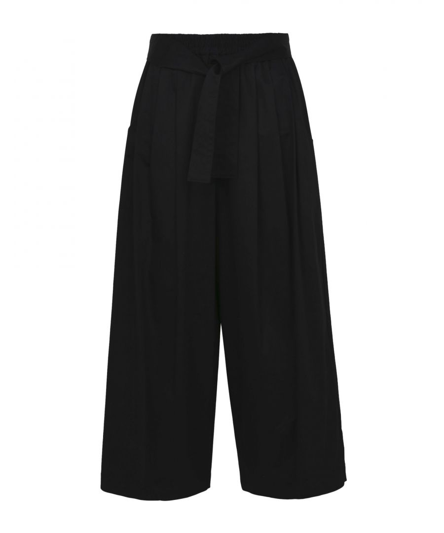 Image for Tome Black Cotton Pantaloni