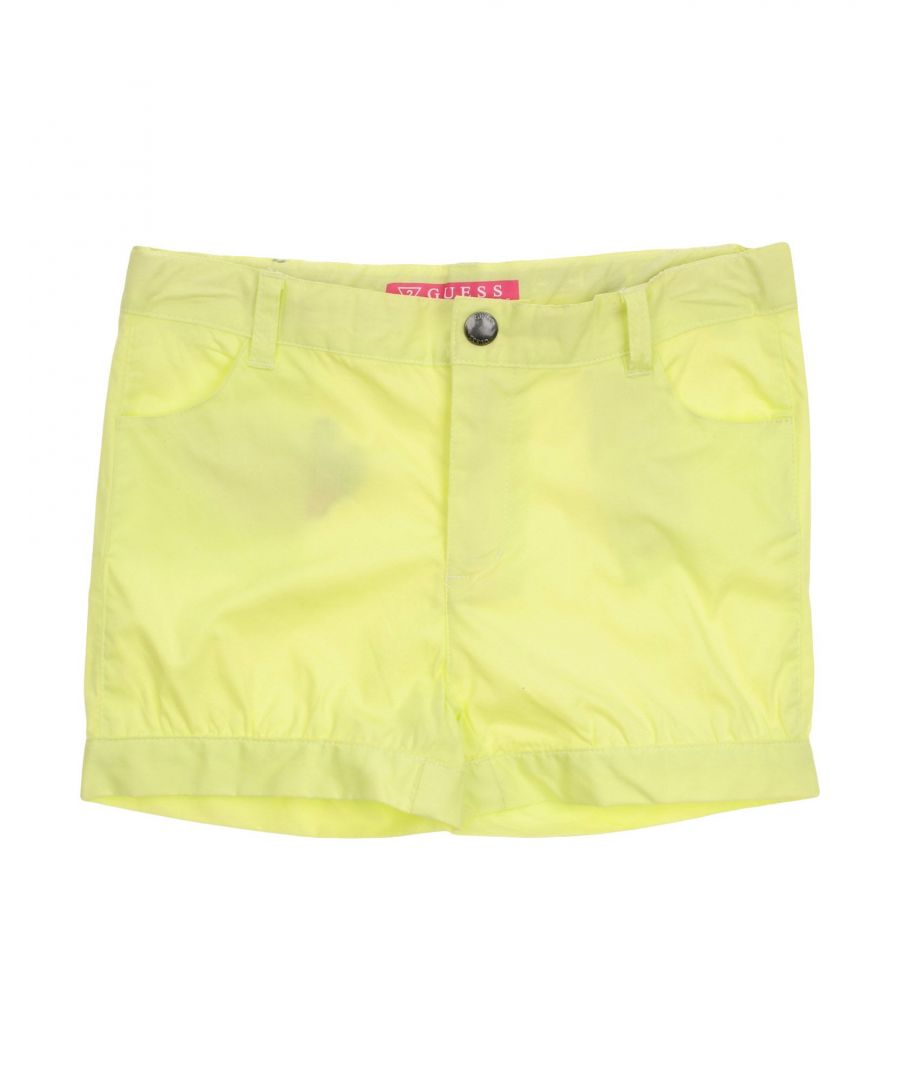 Image for TROUSERS Guess Yellow Girl Cotton