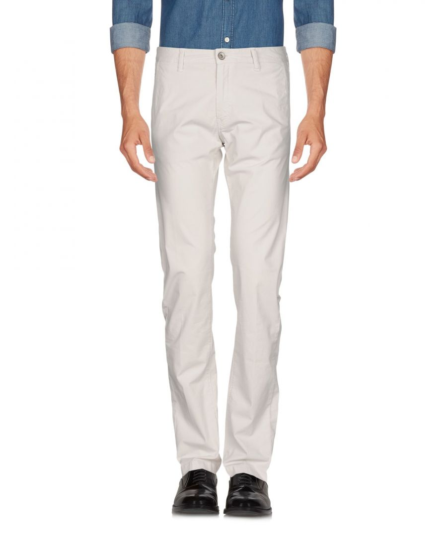 Image for TROUSERS Henry Cotton'S Light grey Man Cotton