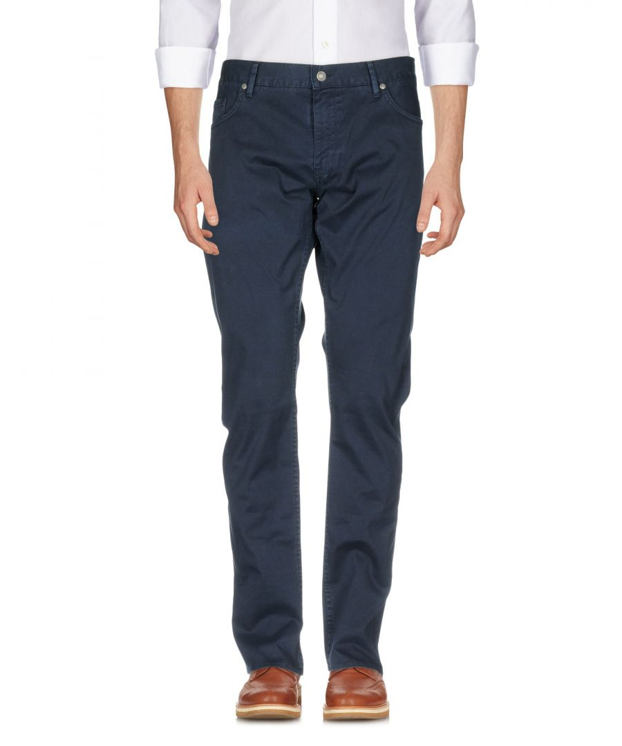 Image for TROUSERS Boss Hugo Boss Dark blue Man Cotton