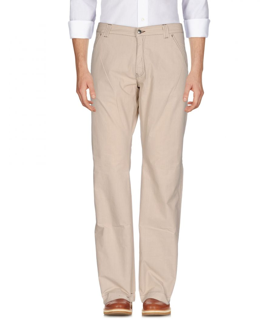 Image for Versace Collection Beige Cotton Trousers